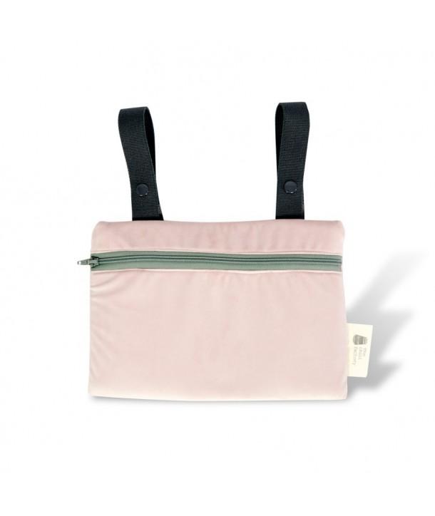 Velvet mini clutch