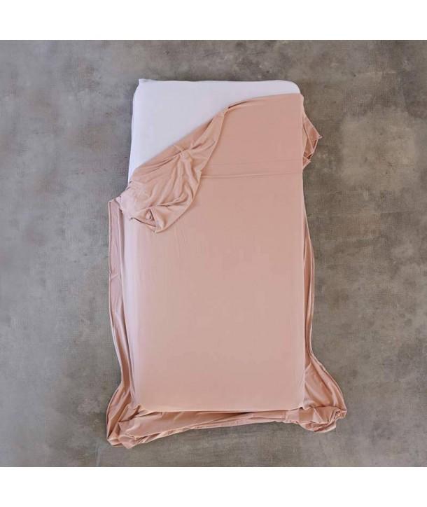 Drap en jersey de coton pour lit de 90cm, 150 cm et 180cm