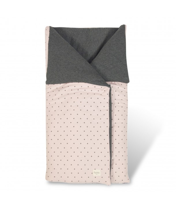 Cotton footmuff for carrycot