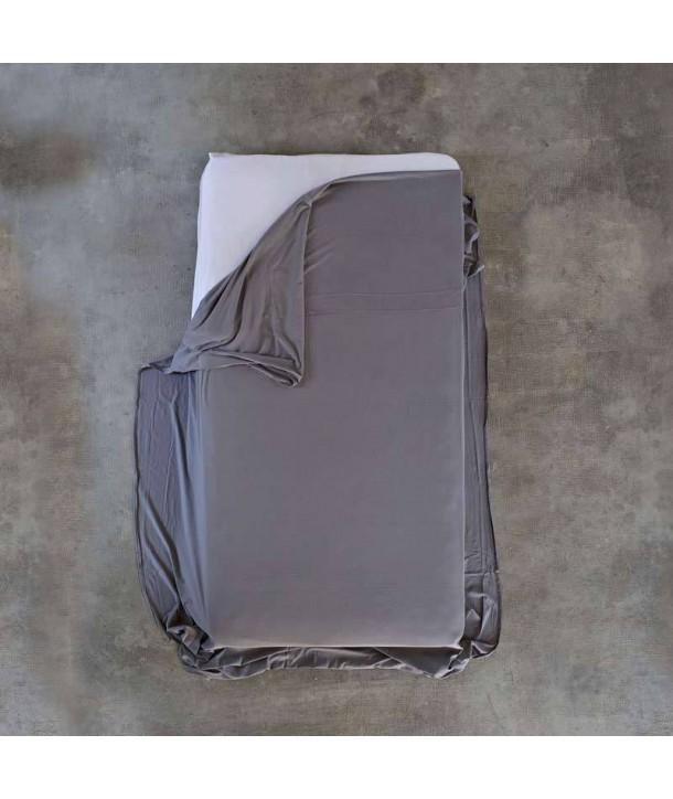 Sábana de punto de algodón para cama 90cm,150cm y 180cm