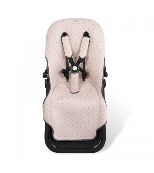 Fun Black Star F125//9399 Fundas BCN /® Colchoneta para silla de paseo Bugaboo Cameleon /® 3
