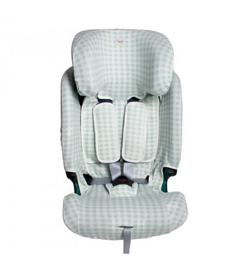B/éb/é Confort 8737790210 Funda para asiento de coche Pebble y Rock color gris claro funda de verano de rizo de algod/ón