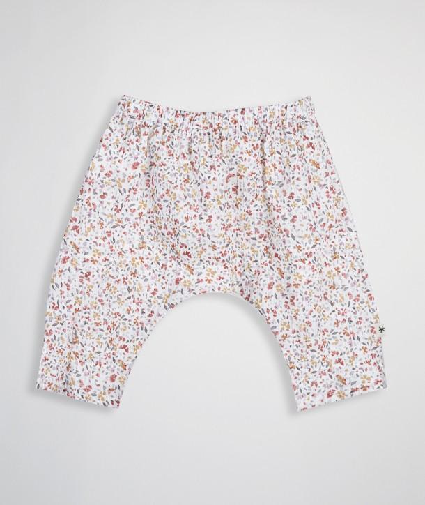 Pantalon pour nouveau-né effet plissé