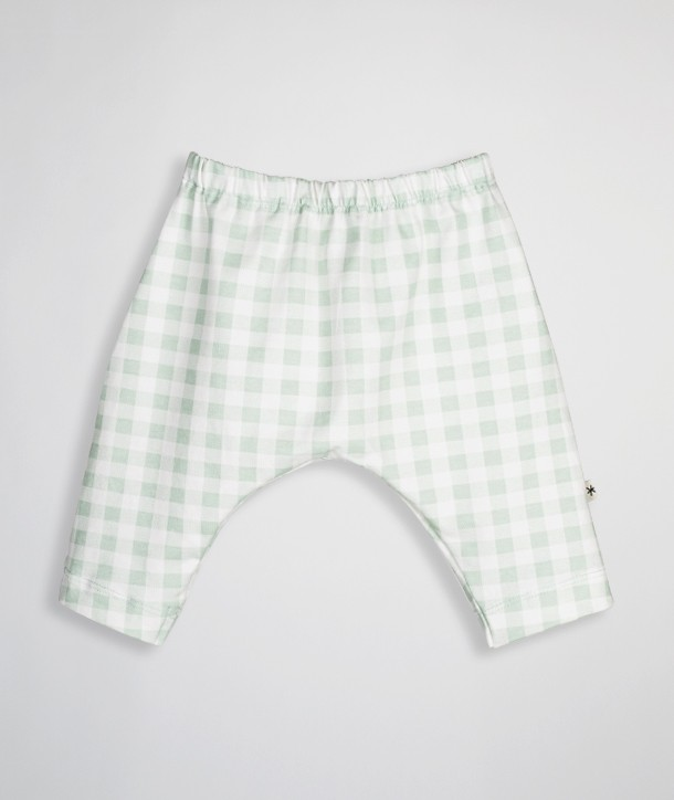 Pantalon pour nouveau-né en coton biologique