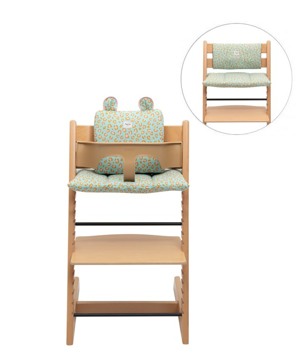 Set of 3 waterproof cushions for High Chair Stokke Tripp Trapp ®