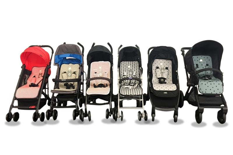 Nuevas colchonetas para tus sillas de paseo más resistentes, cómodas, traspirables
